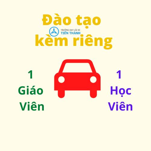 Đào tạo kèm riêng khi học lái xe Bình Tân