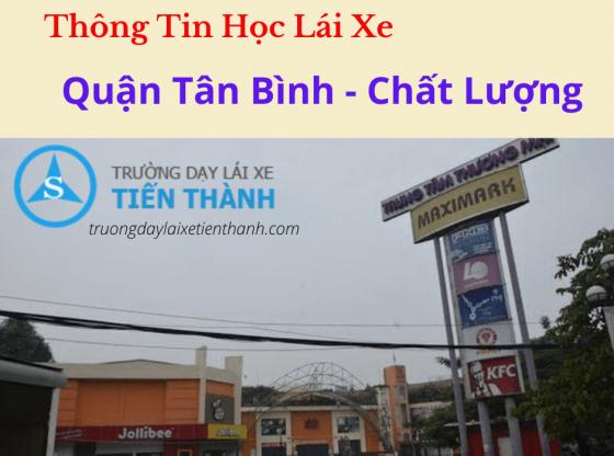 Thông Tin Học Lái Xe Quận Tân Bình - Chất Lượng